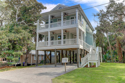 Folly Beach Single Family Home For Sale: 219 E Huron Avenue