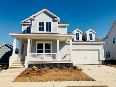 Mount Pleasant Single Family Home For Sale: 1486 Bourne Crossing