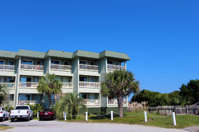 Isle Of Palms Attached For Sale: 1300 Ocean Blvd. #107