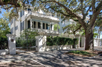 Charleston SC Single Family Home For Sale: $2,995,000