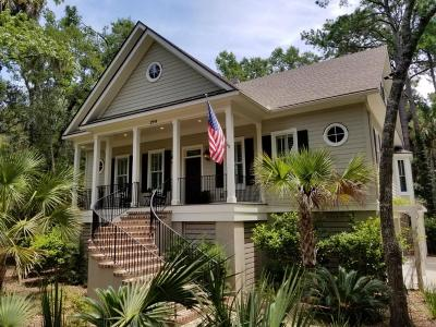Seabrook Island Single Family Home For Sale: 2914 Capn Sams Road