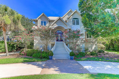 Isle Of Palms Single Family Home For Sale: 32 Seagrass