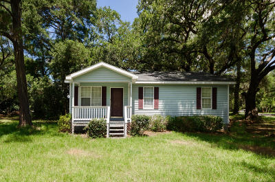 Johns Island SC Single Family Home For Sale: $150,000