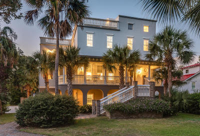 Isle Of Palms Single Family Home For Sale: 3 Cross Lane