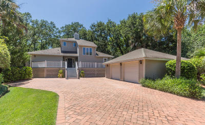 Isle Of Palms Single Family Home For Sale: 1 Oyster Row