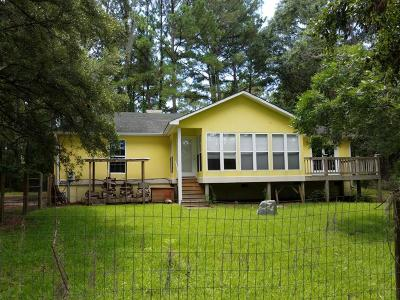 Edisto Island Single Family Home For Sale: 8354 Chisolm Plantation Road