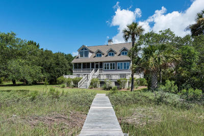 Johns Island Single Family Home For Sale: 2605 Jenkins Point Road