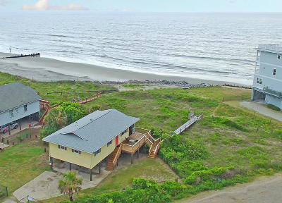 Folly Beach SC Single Family Home For Sale: $825,000