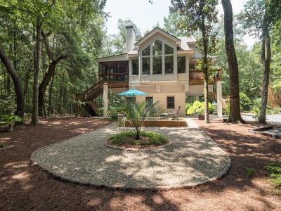 Ravenel Single Family Home Contingent: 5654 Middle Creek Road