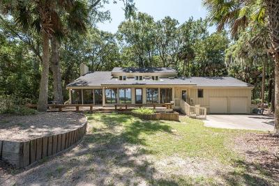 Johns Island Single Family Home For Sale: 2586 Seabrook Island Road