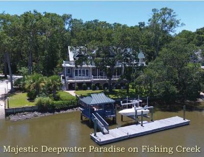 Edisto Island Single Family Home For Sale: 8928 Palmetto Road