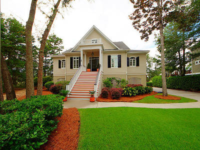 Johns Island Single Family Home For Sale: 202 Old Hickory Crossing