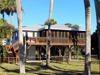 Edisto Island Single Family Home Contingent: 420 Pompano Street