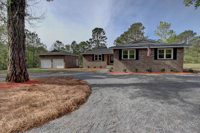 Johns Island Single Family Home For Sale: 1466 River Road