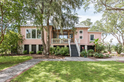 Edisto Island Single Family Home For Sale: 8694 Glascow Island Lane