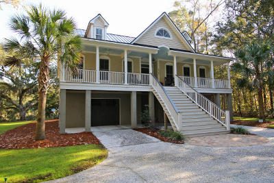 Johns Island Single Family Home For Sale: 5065 Chisolm Road