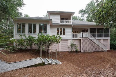 Johns Island Single Family Home For Sale: 2626 High Hammock Road
