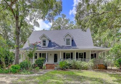 Charleston Single Family Home For Sale: 699 Willow Lake Road
