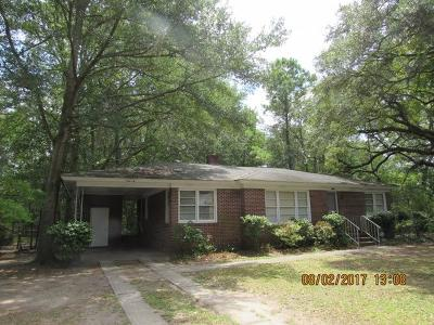 Charleston Single Family Home Contingent: 1447 Brian Road