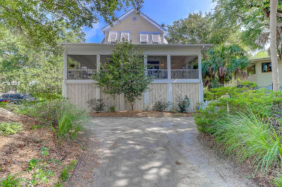 Isle Of Palms Single Family Home Contingent: 15 Wills Way
