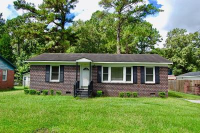 North Charleston Single Family Home For Sale: 7253 Tanglewood Drive