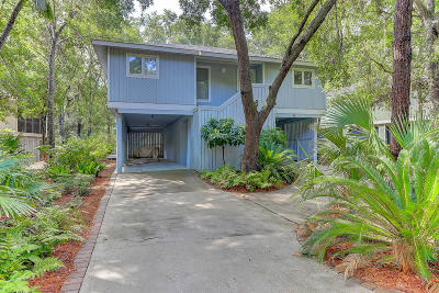 Isle Of Palms Single Family Home Contingent: 32 Twin Oaks Lane