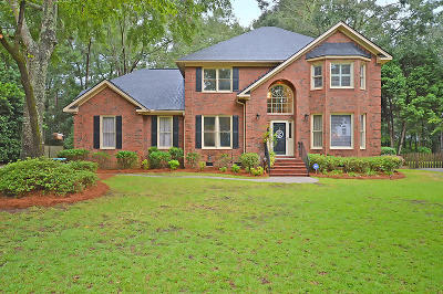 North Charleston, West Ashley Single Family Home For Sale: 8615 W Fairway Woods Dr