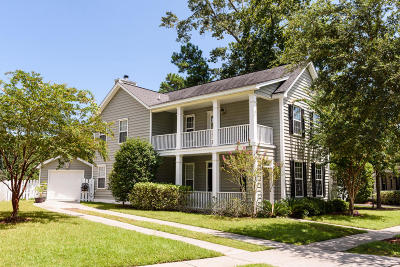 Mount Pleasant Single Family Home For Sale: 1418 Whispering Oaks Trail