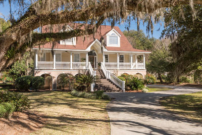 Johns Island Single Family Home For Sale: 3923 Gift Boulevard