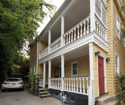 Charleston Single Family Home Contingent: 66 South Street