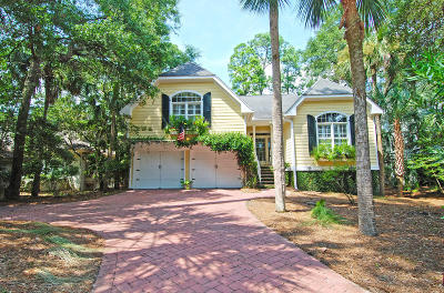 Johns Island Single Family Home For Sale: 2975 Seabrook Island Road