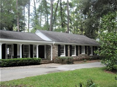 Walterboro Single Family Home For Sale: 1302 Ireland Hills Drive