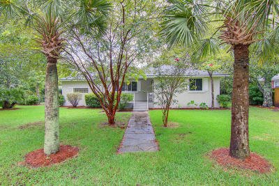 Charleston Single Family Home For Sale: 1737 Gilbert Street