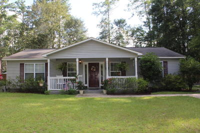 Walterboro Single Family Home For Sale: 407 Constance Street