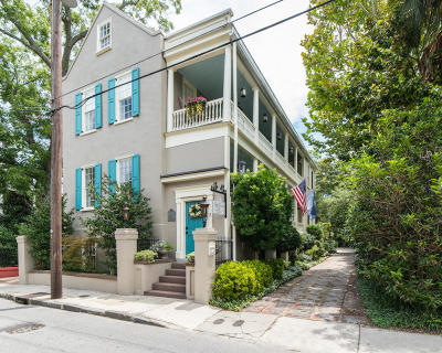 Charleston Single Family Home Contingent: 11 George Street