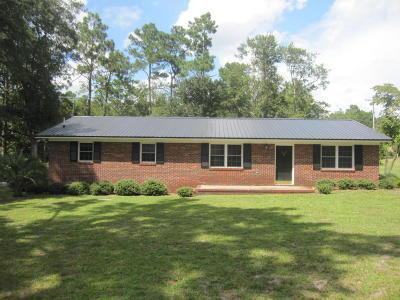 Walterboro Single Family Home For Sale: 268 Wade Hampton Avenue