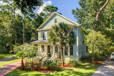 Johns Island Single Family Home For Sale: 5000 Coral Reef Drive