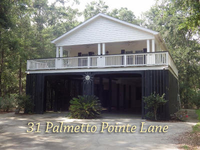 Edisto Island Single Family Home For Sale: 31 Palmetto Pointe Ln