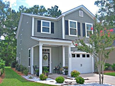 Charleston Single Family Home For Sale: 203 Larissa Drive