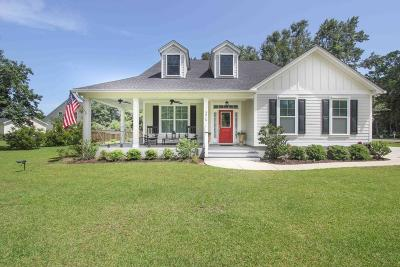 Johns Island Single Family Home For Sale: 3215 Fosters Glenn Drive