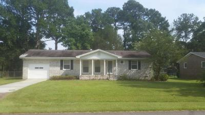 Charleston Single Family Home For Sale: 1609 Boone Hall Drive