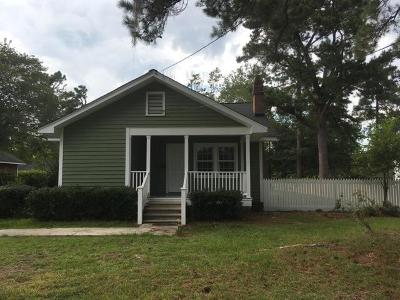 Summerville Single Family Home For Sale: 404 N N. Hickory Street