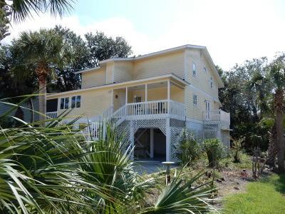 Edisto Beach Single Family Home For Sale: 1908 Mitchell Street