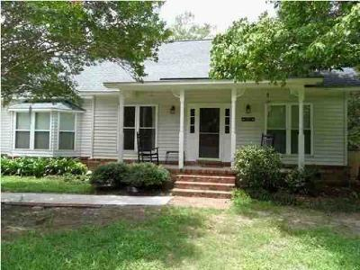 Wadmalaw Island Single Family Home Contingent: 4869 Bears Bluff Road