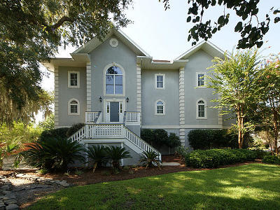 North Charleston Single Family Home For Sale: 1017 Bakers Landing Drive