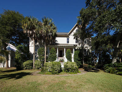 Isle Of Palms Single Family Home For Sale: 2907 Waterway Boulevard