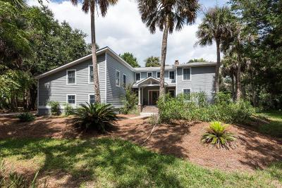 Johns Island Single Family Home For Sale: 2808 Seabrook Island Road