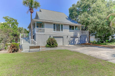 Isle Of Palms Single Family Home Contingent: 38 W Beachwood