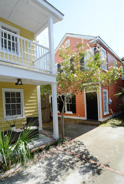 Charleston Single Family Home For Sale: 1 Bogard Street #A &