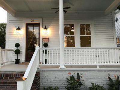 Single Family Home For Sale: 21 Cleveland Street